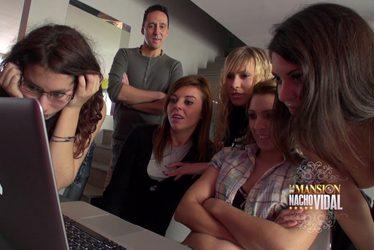 Presentación chicas en la Mansión de Nacho