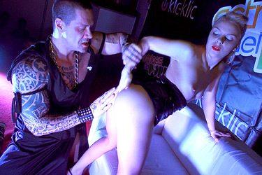 Jackeline Teen y Rob Diesel en Oporto