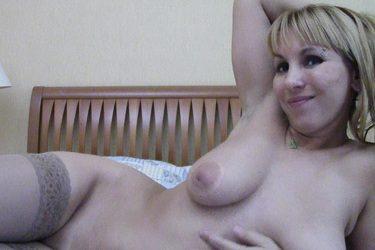Sonya, una mujerona en su webcam