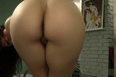 Veranika en su webcam